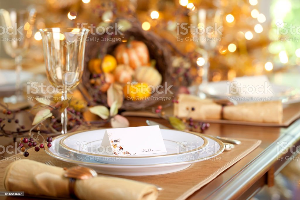 Holiday Dining stock photo