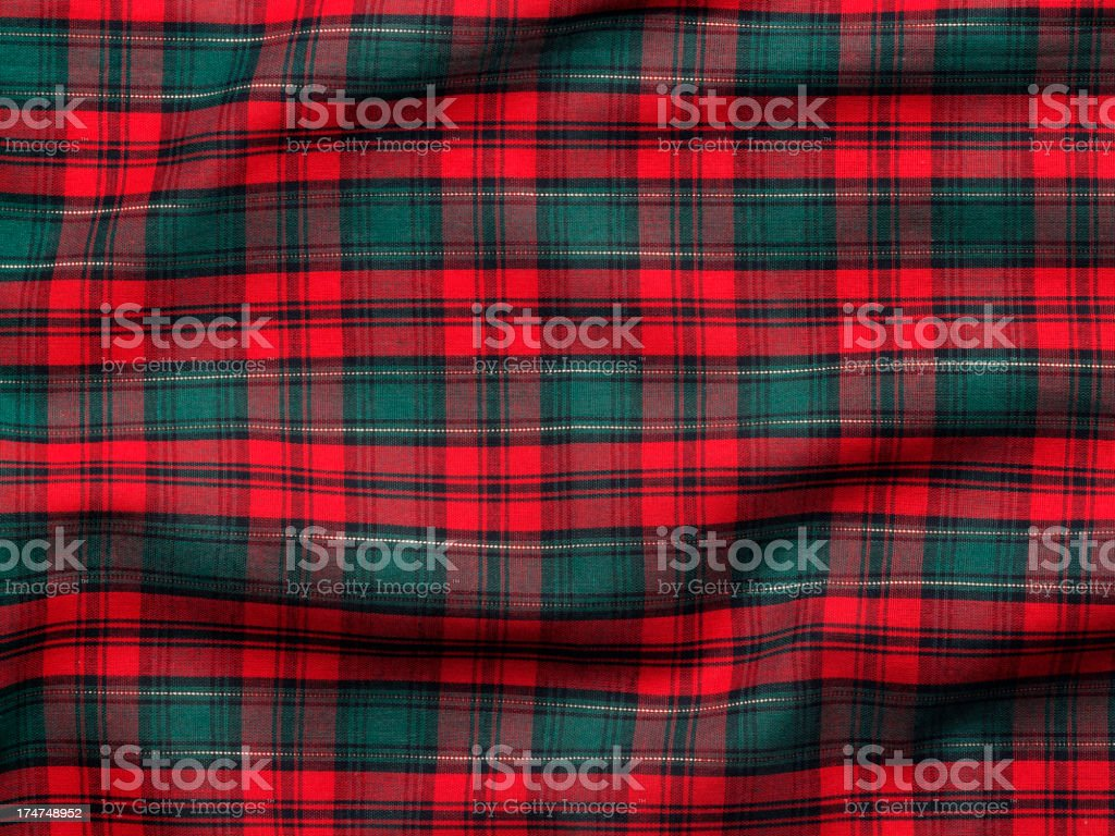 Holiday Fabric Background stock photo