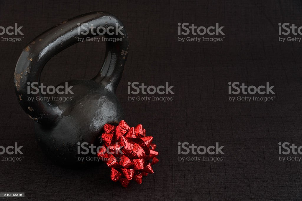 Holiday Fitness stock photo