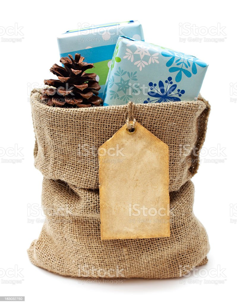 Holiday gifts for you stock photo
