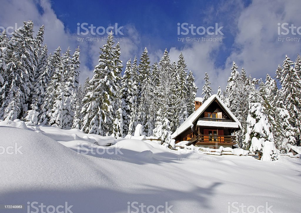 Holiday Home royalty-free stock photo
