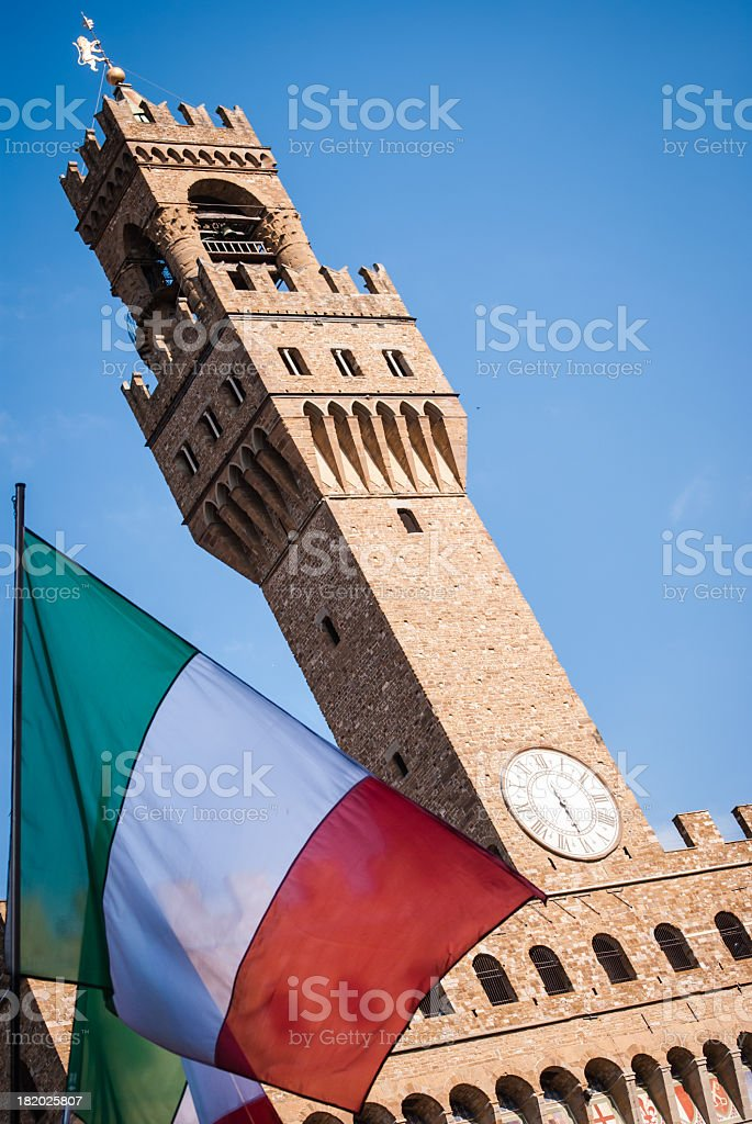 Holiday in Italy, Florence stock photo