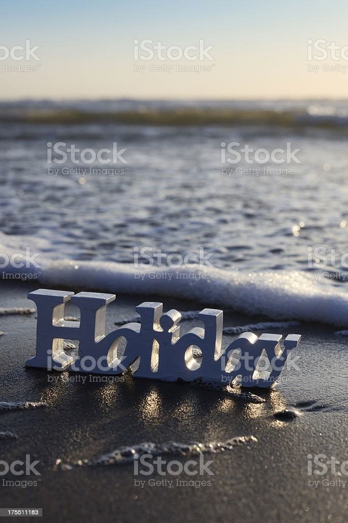 holiday in wood along the coast royalty-free stock photo