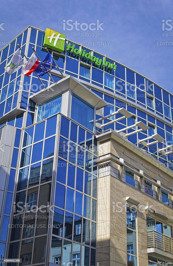 Holiday Inn Cracow City Centre, Poland stock photo