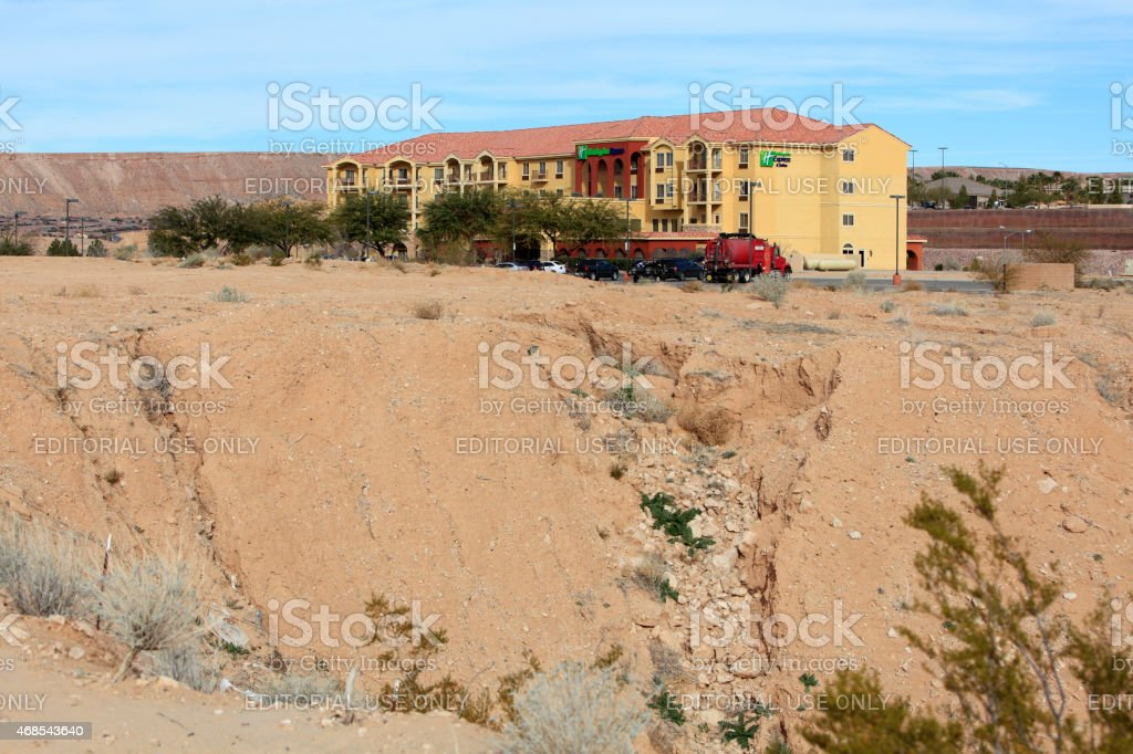 Holiday Inn Express Mesquite Nevada stock photo