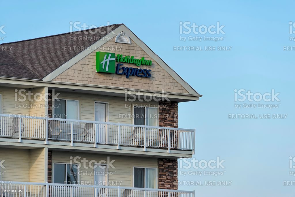 Holiday Inn Express stock photo