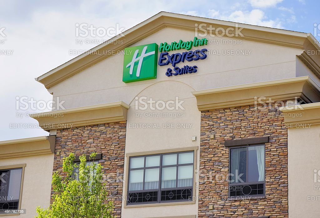 Holiday Inn Express & Suites stock photo