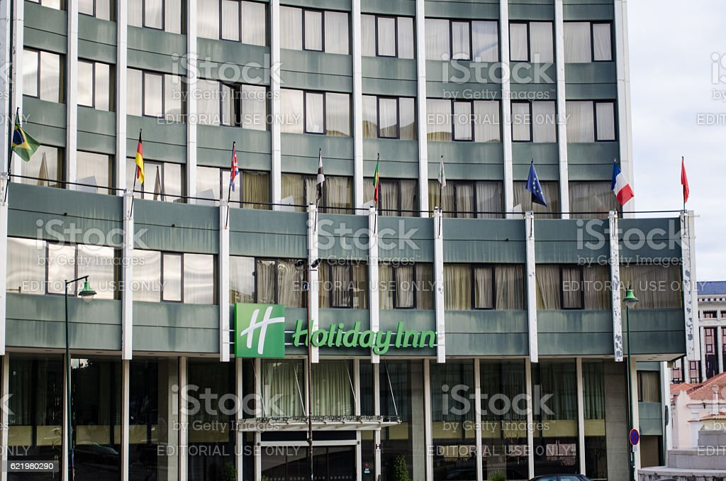 Holiday Inn Lisbon hotel stock photo