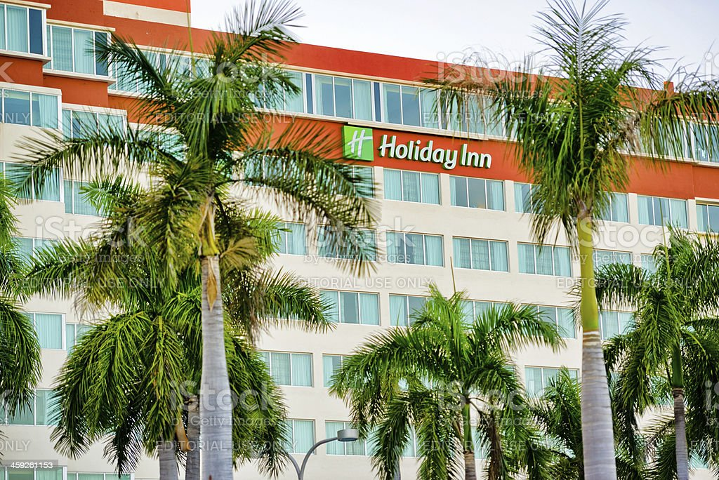 Holiday Inn, Miami stock photo