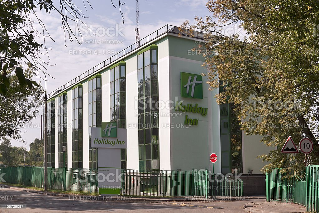 Holiday Inn Moscow Vinogradovo stock photo