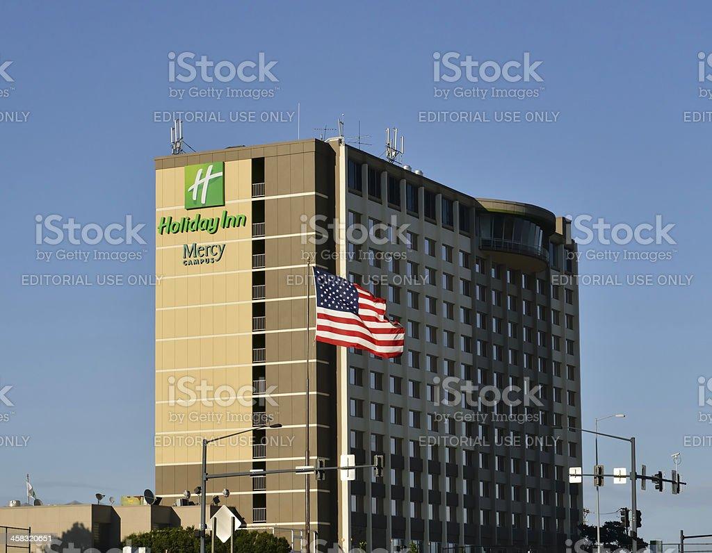 Holiday Inn royalty-free stock photo