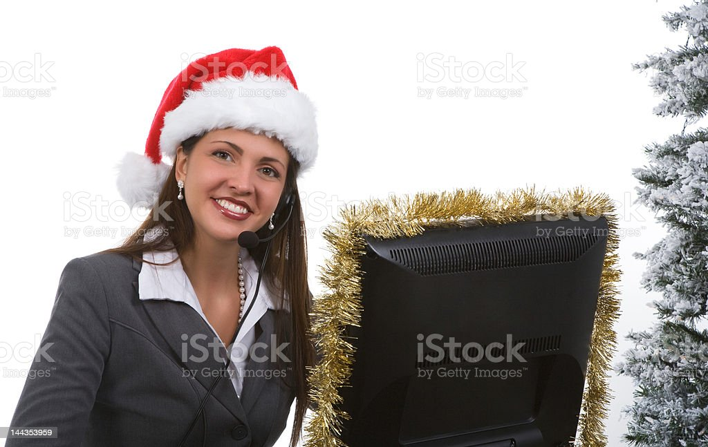 Holiday Office royalty-free stock photo