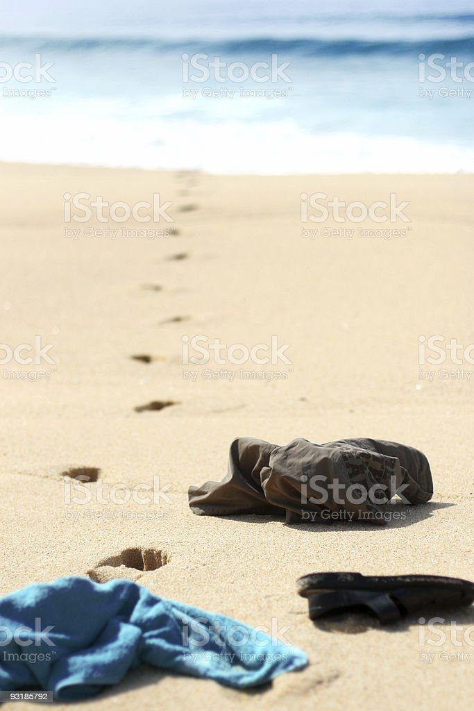 Urlaubsstimmung royalty-free stock photo