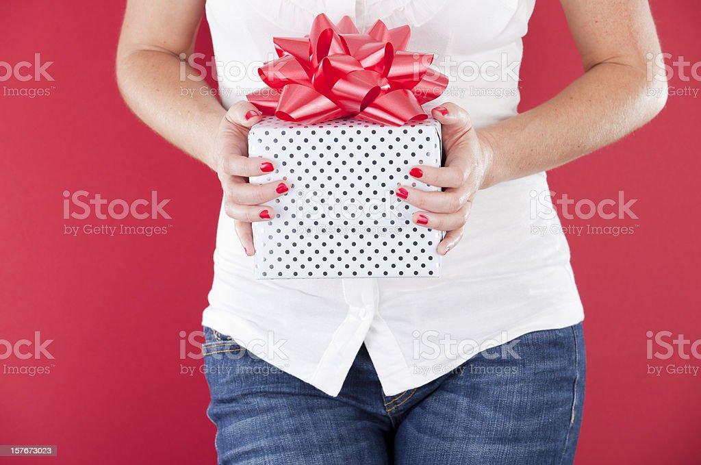 Holiday Present royalty-free stock photo