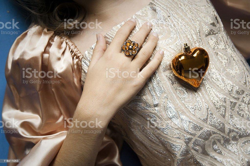 Holiday Princess serie stock photo