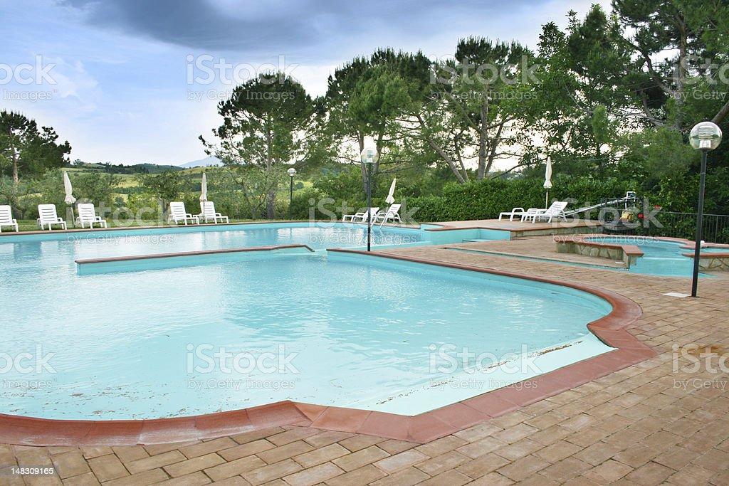 Holiday resort royalty-free stock photo