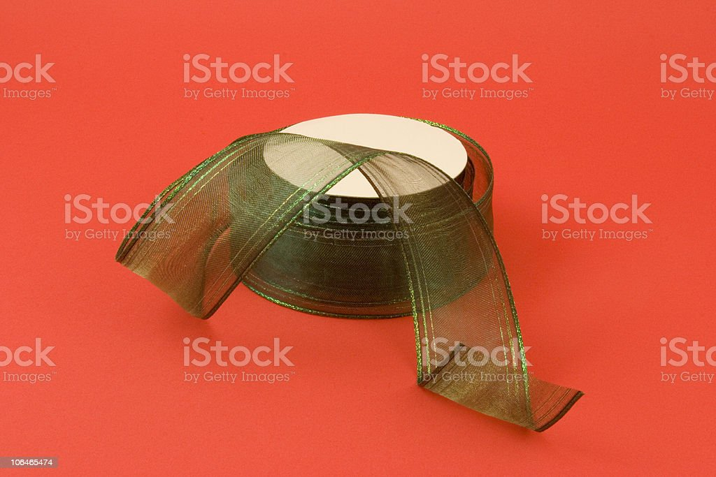 Holiday Ribbon royalty-free stock photo