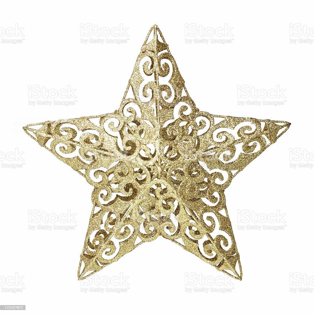 Holiday Star stock photo