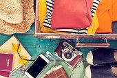 Holiday suitcase