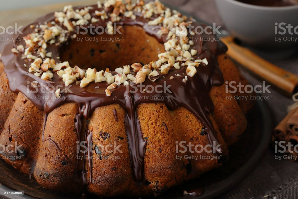 holiday sweet cake stock photo