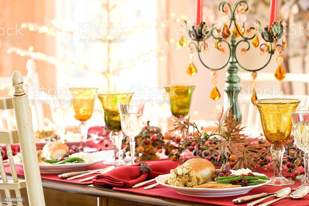 Holiday Table (XXL) royalty-free stock photo