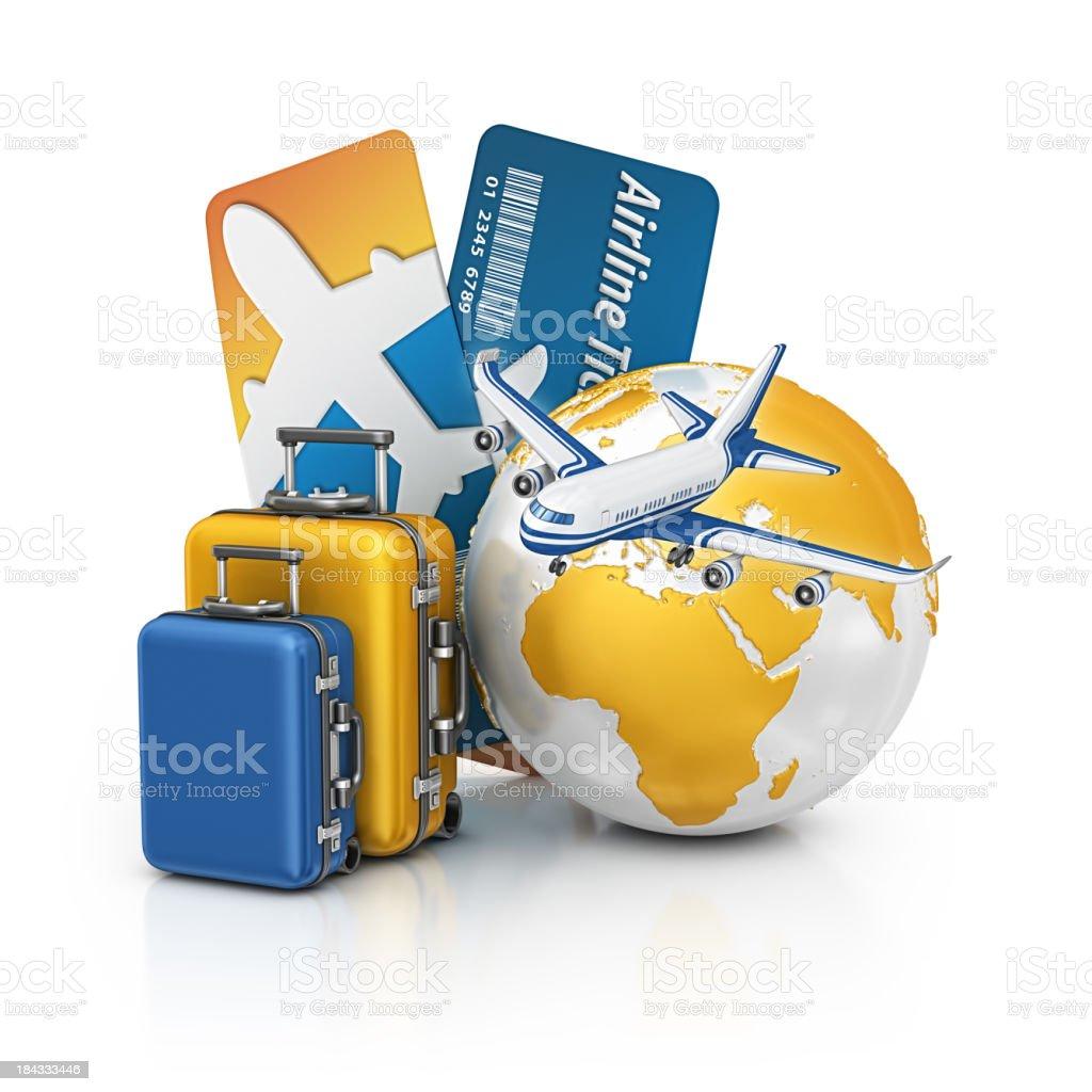 holiday travel royalty-free stock photo