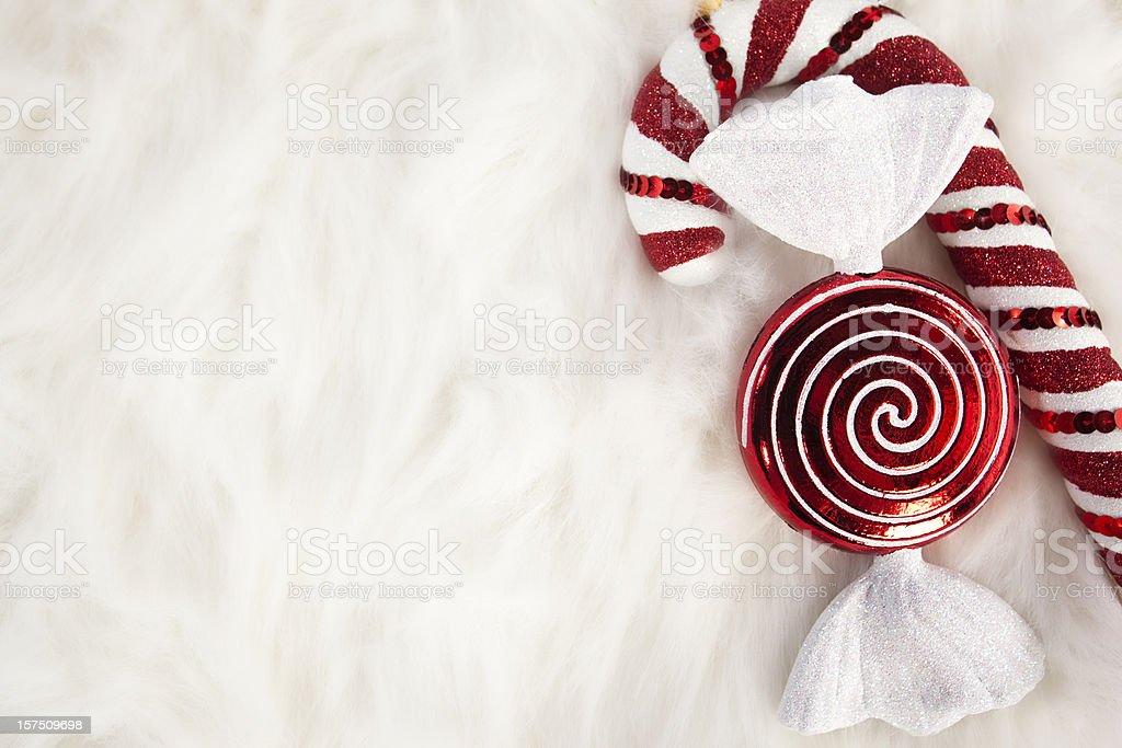 Holiday Treat Background royalty-free stock photo