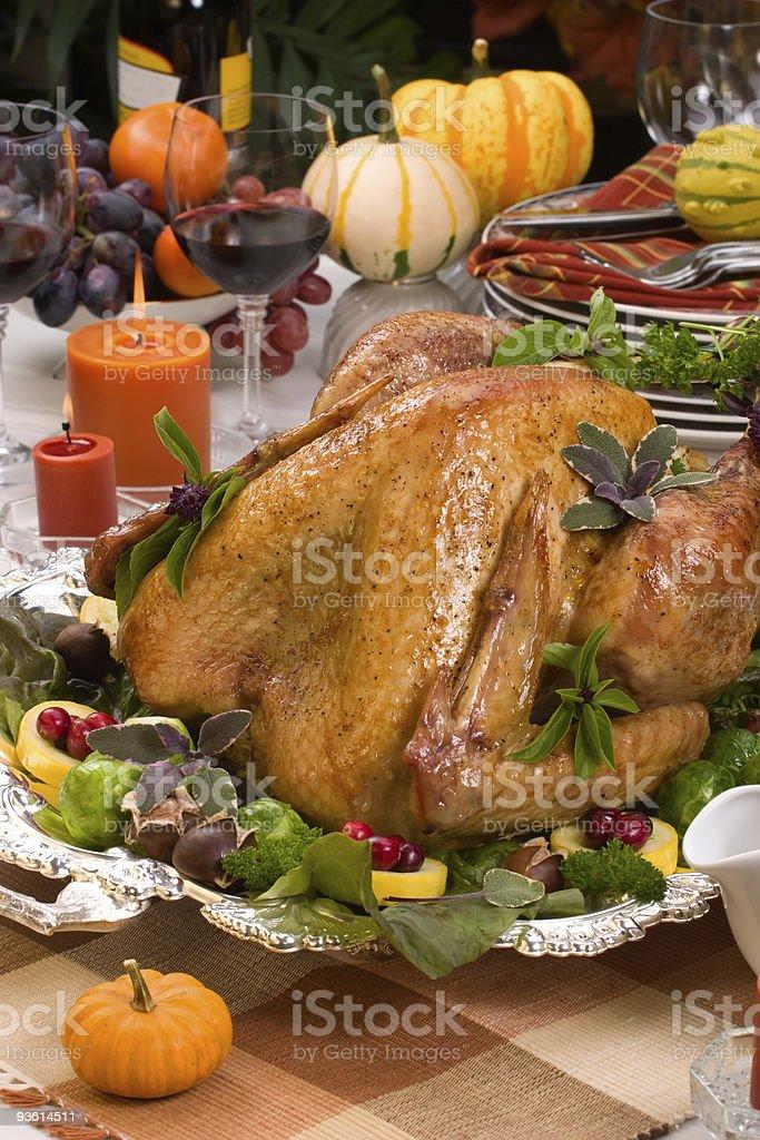 Holiday turkey royalty-free stock photo