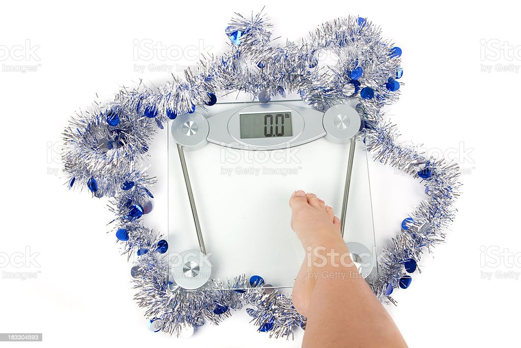 Holiday Weight Management stock photo