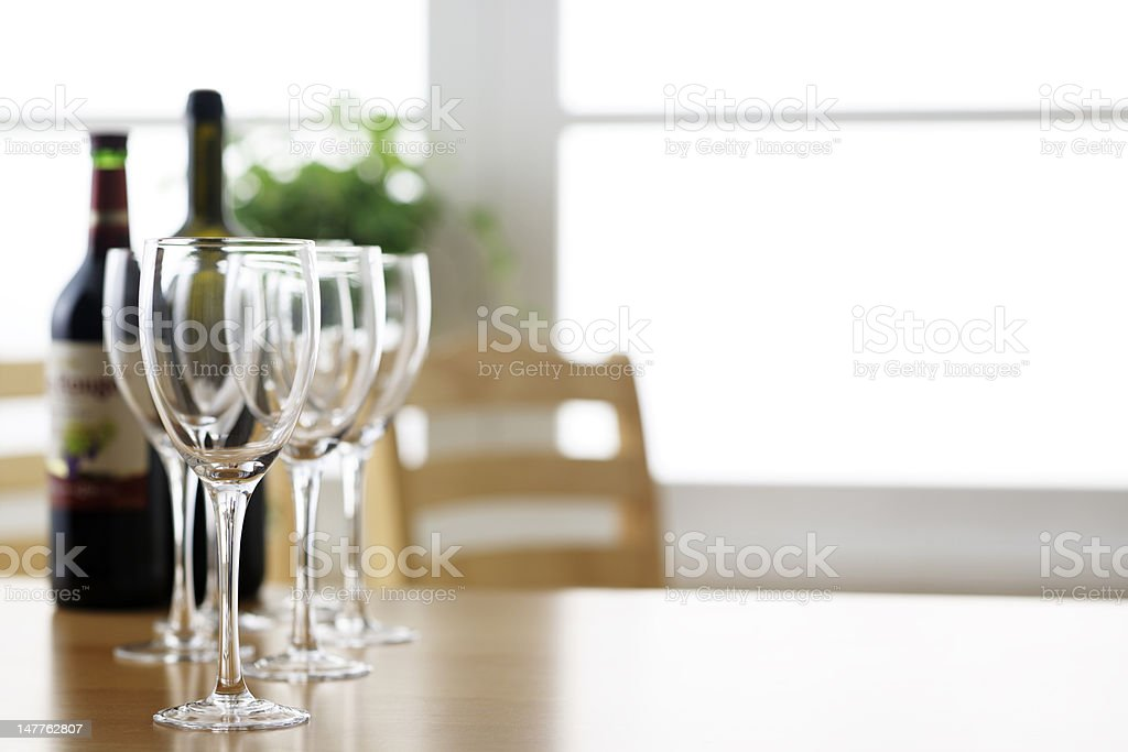 Holiday wine royalty-free stock photo