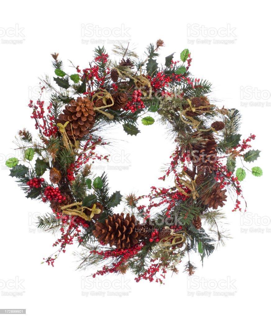 Holiday Wreath (XXL) royalty-free stock photo