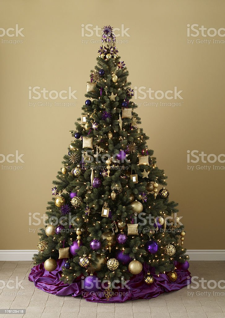 Holiday-Christmas Tree A royalty-free stock photo