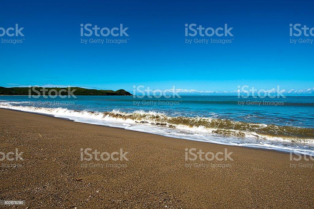 Holidays in New Caledonia stock photo