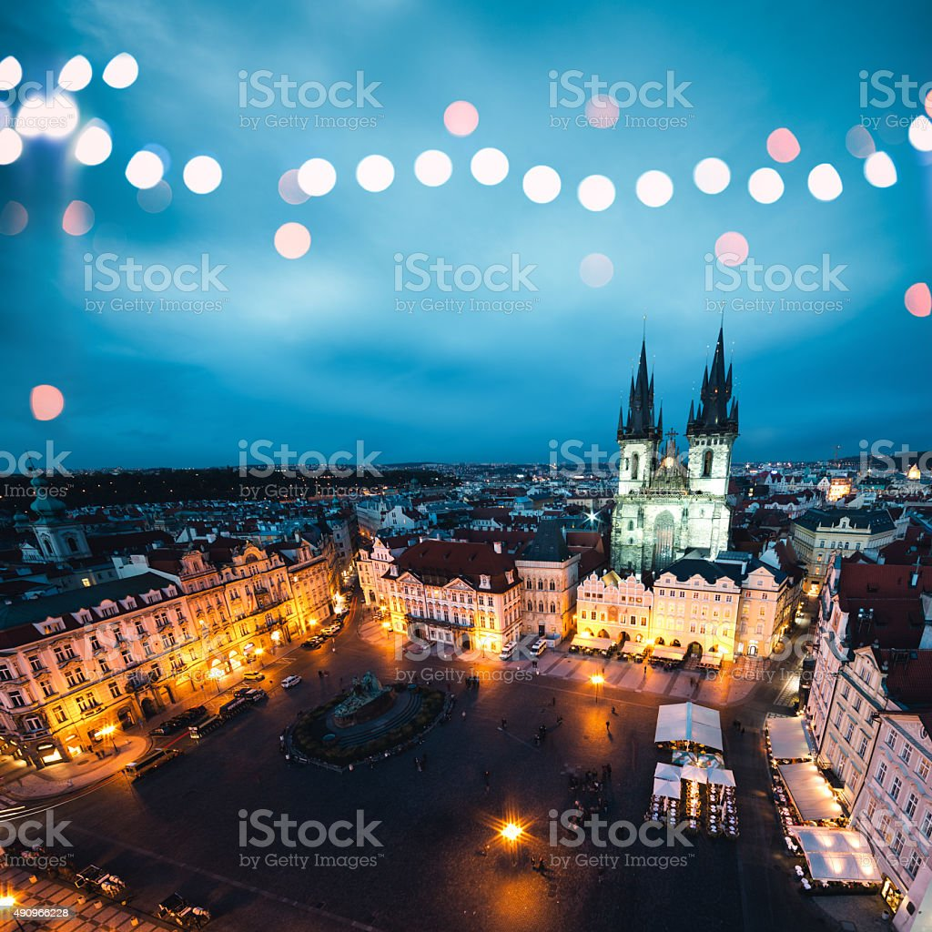 Holidays In Prague stock photo