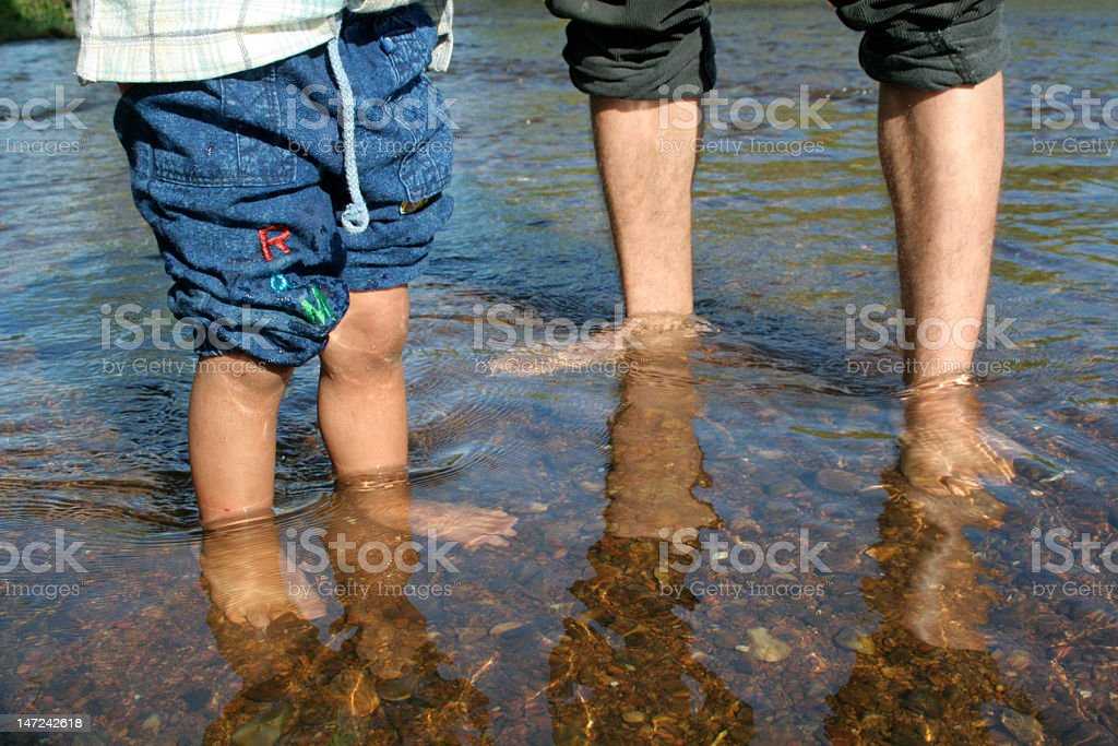 holidays in the lake royalty-free stock photo