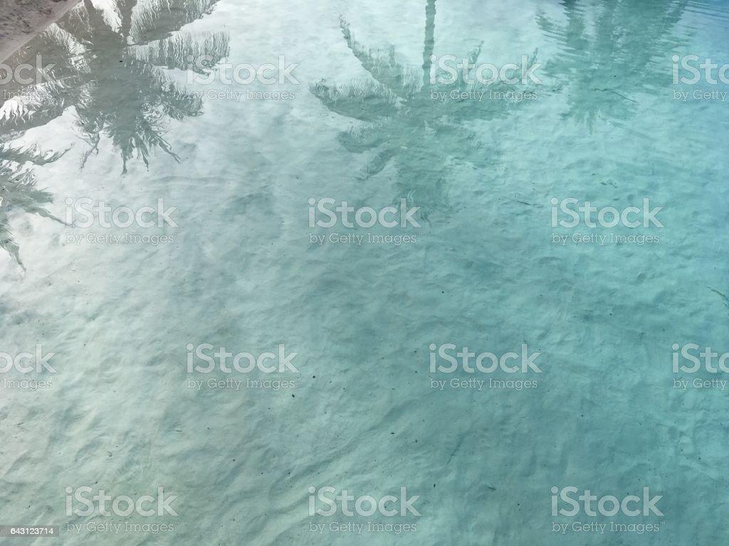 Holidays on paradise island stock photo