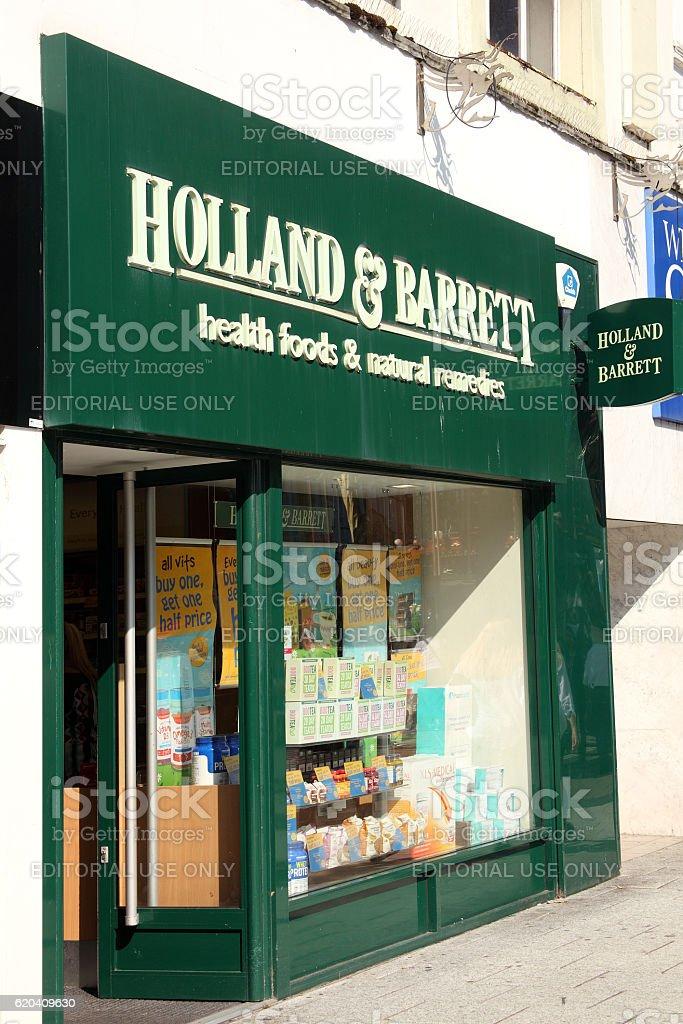Holland & Barrett stock photo