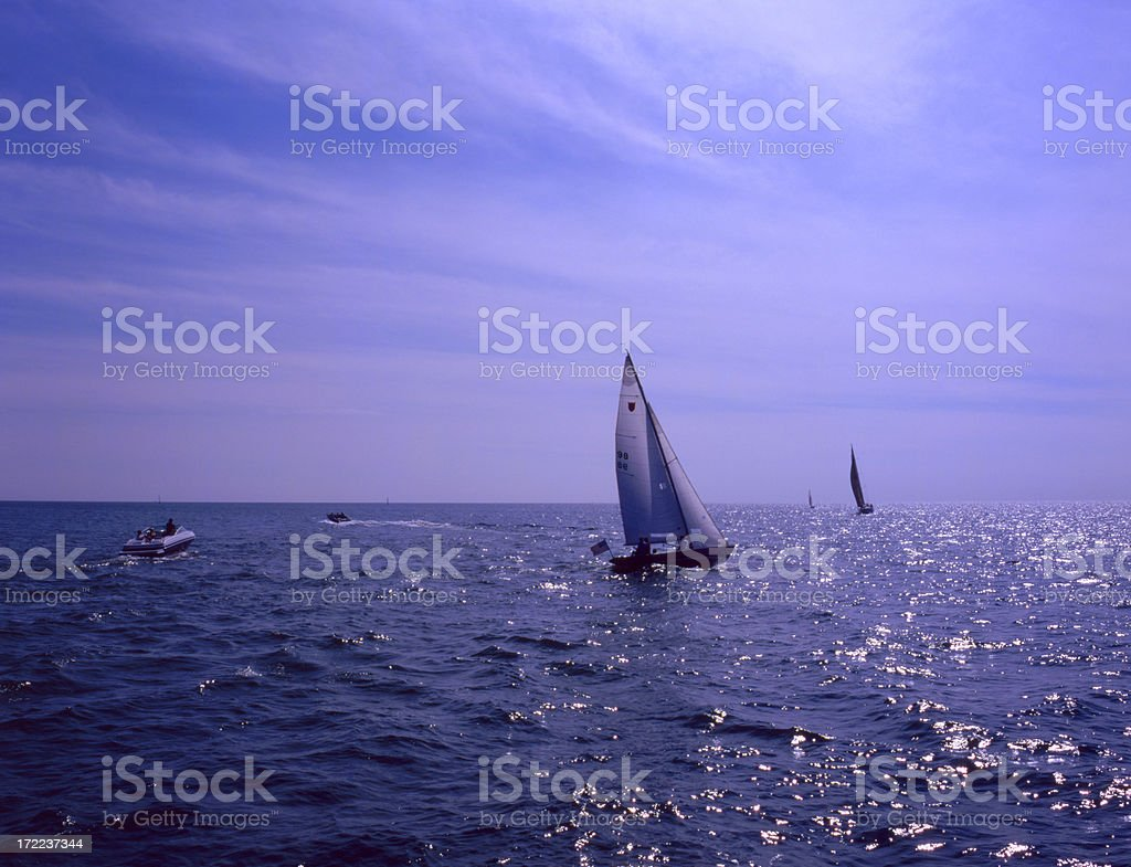 Holland Channel I stock photo