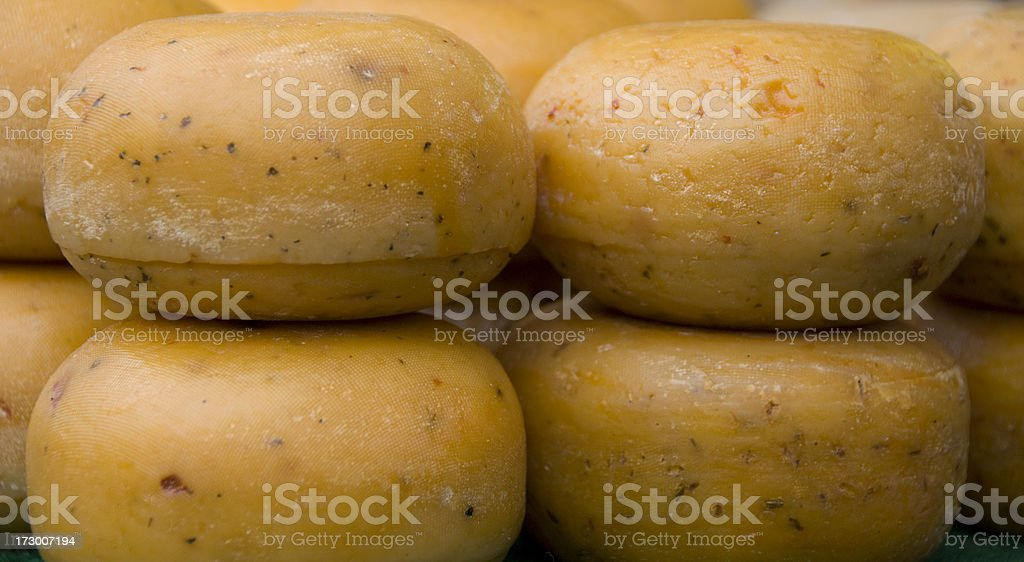 Holland Cheese stock photo