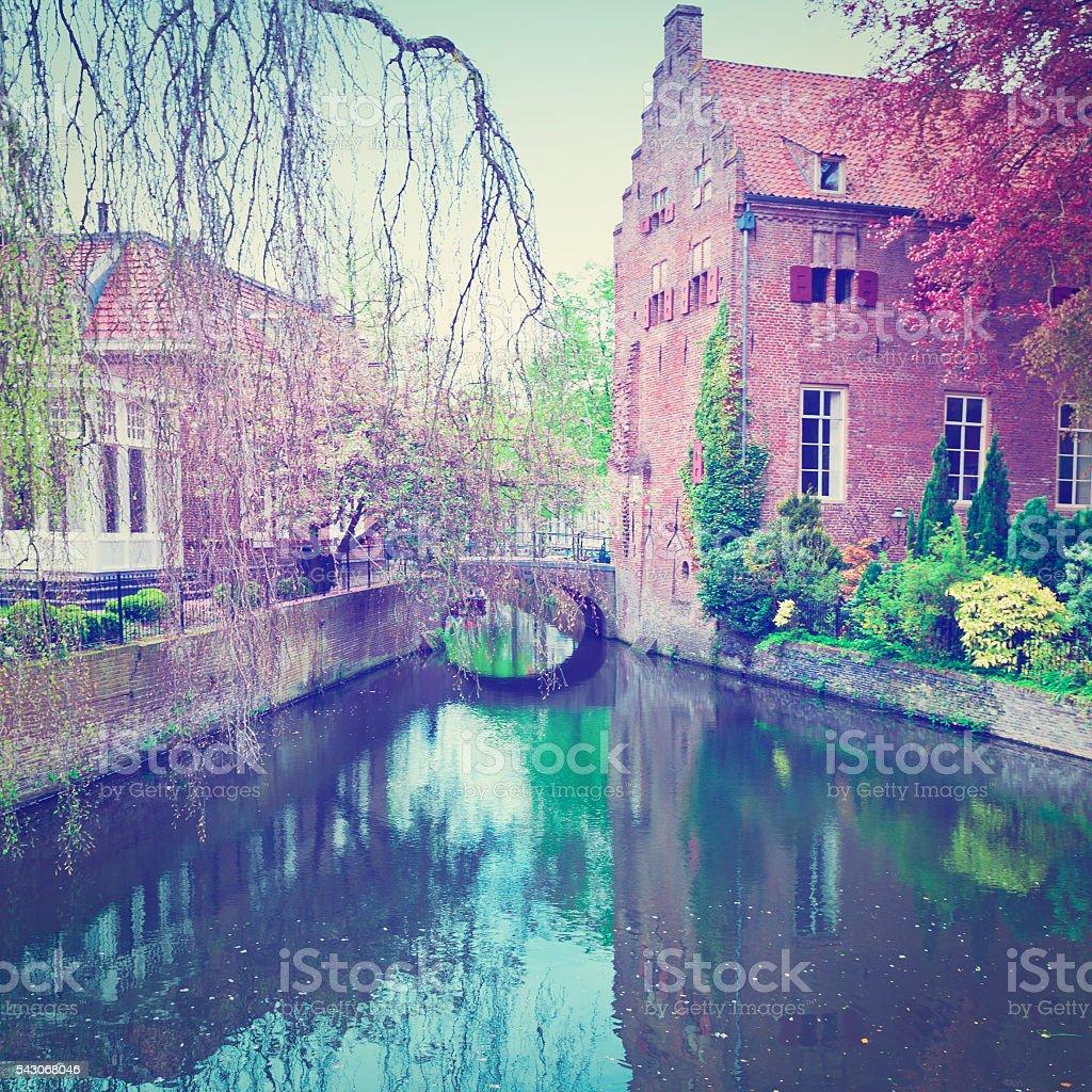 Holland City stock photo