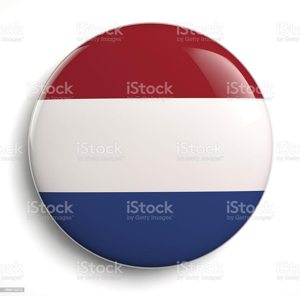 Holland flag stock photo