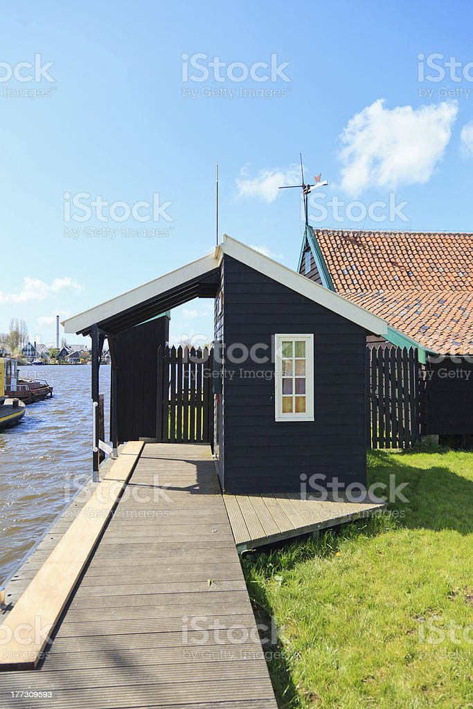 Holland village royalty-free stock photo