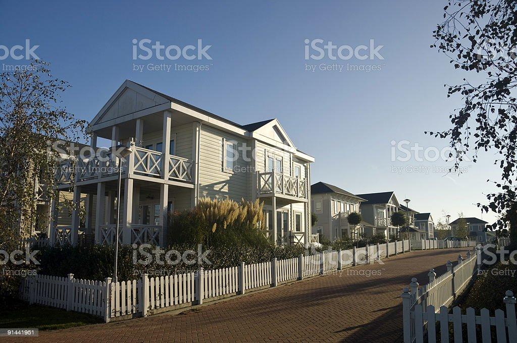 Holland Village stock photo