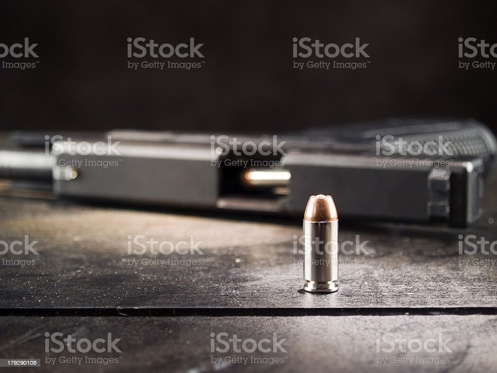 Hollow Point 3 stock photo