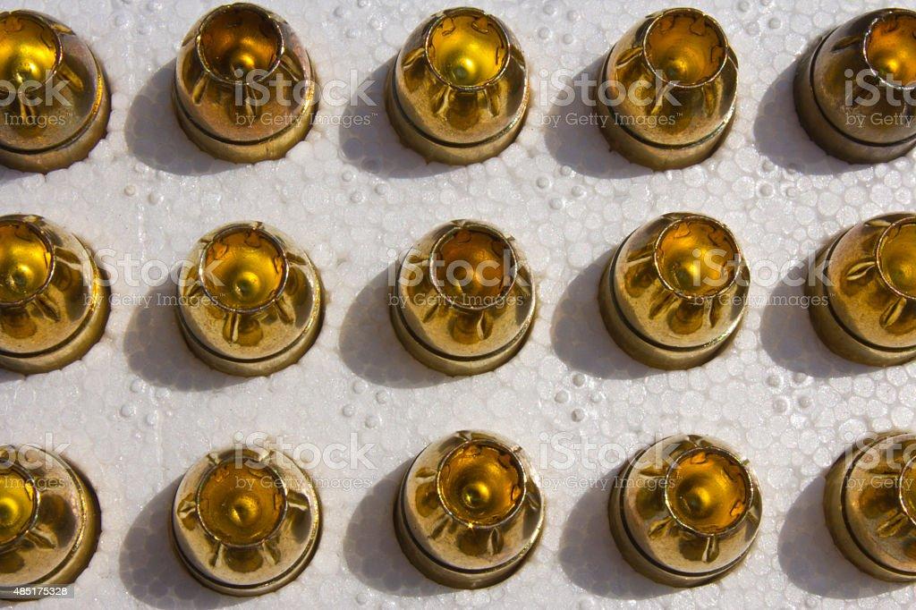 Hollow Point Bullets photo libre de droits