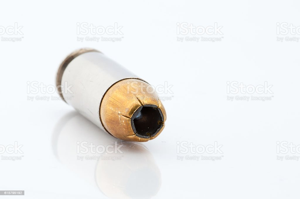 Hollow Point stock photo