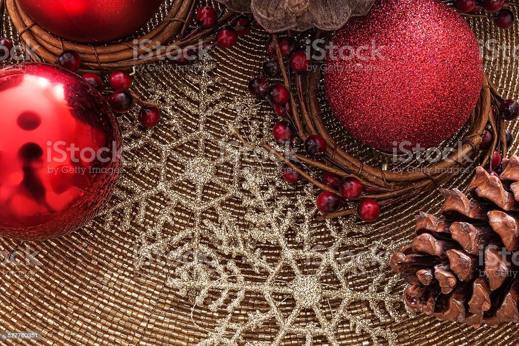 Holly Decoração de Natal foto royalty-free