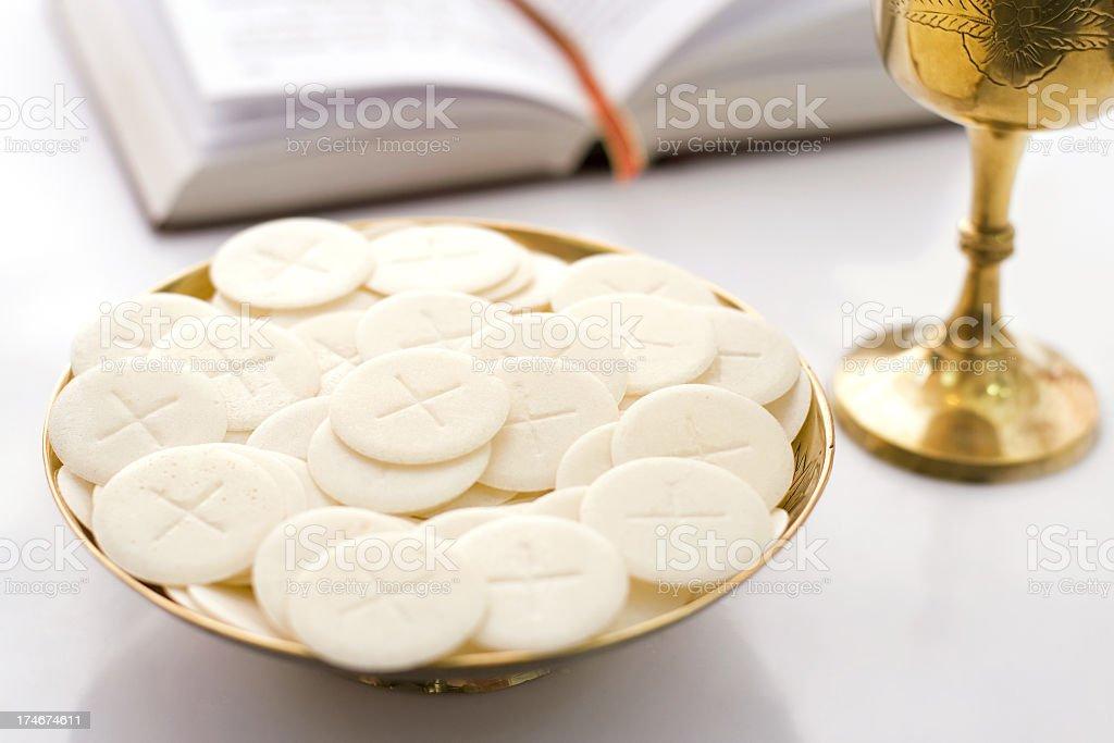 Holly Communion royalty-free stock photo