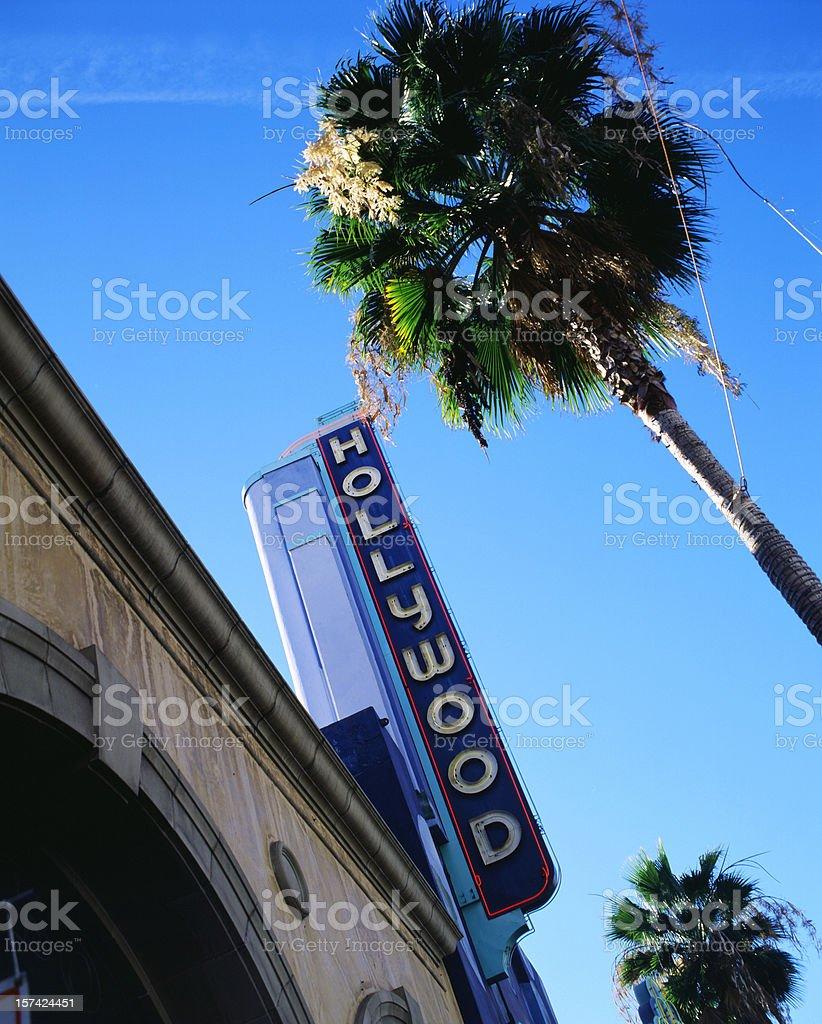 Hollywood Blvd. no. 1 stock photo