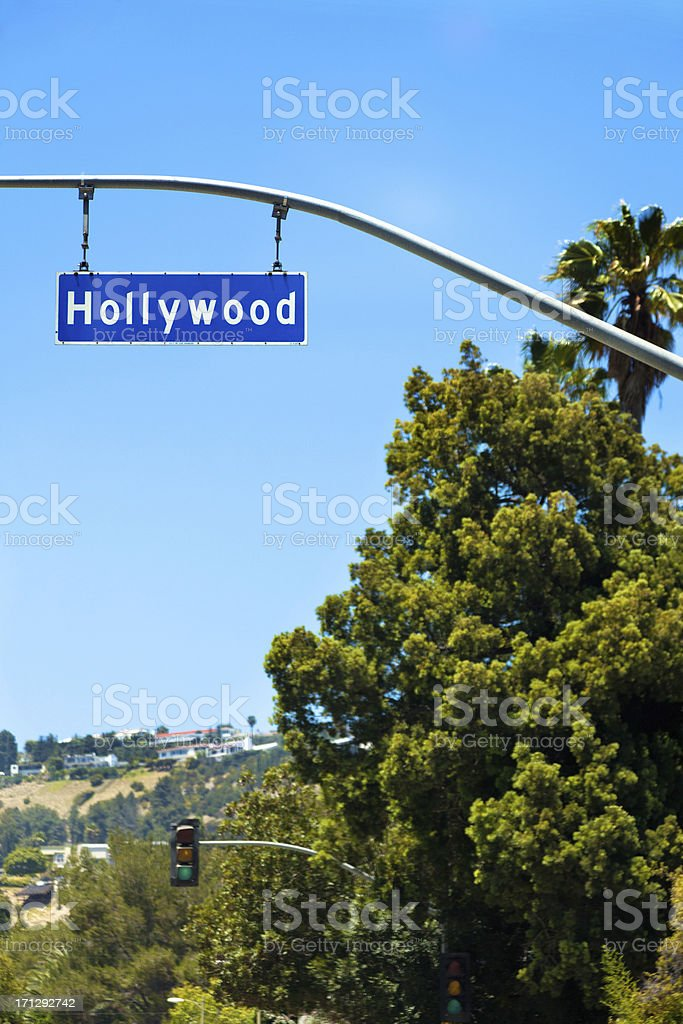 Hollywood California stock photo